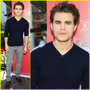 Paul Wesley: 'Old Spice' Campaign Launch