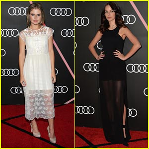 Rose McIver & Alexis Knapp: Golden Globes 2014 Kick-Off Party