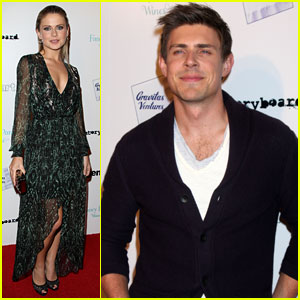Rose McIver & Chris Lowell: 'Brightest Star' L.A. Premiere