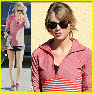 Taylor Swift: New Year's Day Ballet Class!