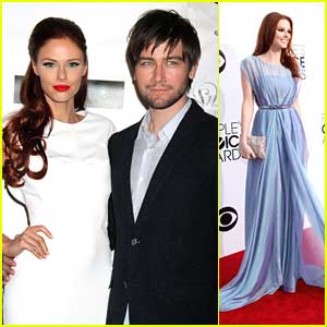 Torrance Coombs couple