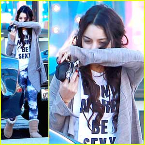 Vanessa Hudgens: Early Morning Workout After 'Gimme Shelter' Premiere