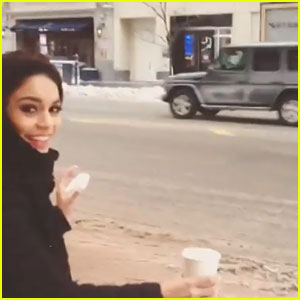 Vanessa Hudgens: Polar Vortex Video - Watch!