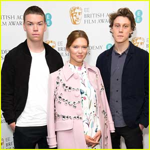 Will Poulter & George MacKay: BAFTA EE Rising Star Award Nominees!