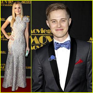 AJ Michalka & Lucas Grabeel: Movieguide Awards!