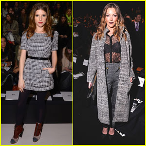 Anna Kendrick & Katie Cassidy: Chic Ladies at NYFW!