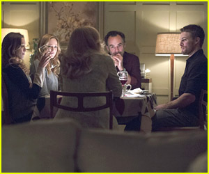 Stephen Amell: Dinner with the Lances on 'Arrow'