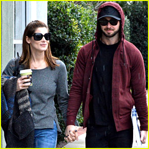 Ashley Greene & Paul Khoury Shop for New Furniture!