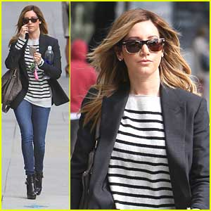 Ashley Tisdale Meets Up with Shenae Grimes