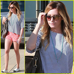 Ashley Tisdale: Shopping and JJJ Shoutout!