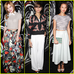 Bella Thorne & Zendaya: Alice + Olivia Fashion Show with Jamie Chung