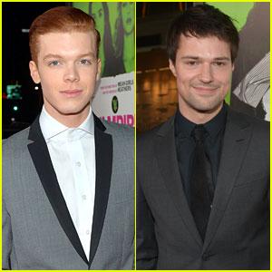 Cameron Monaghan & Danila Kozlovsky: 'Vampire Academy' Premiere Guys