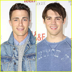 Colton Haynes & Steven R. McQueen: Abercrombie & Fitch's Making of a Star Party Studs!