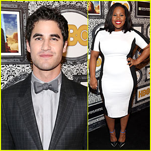 Darren Criss & Amber Riley: Family Equality Council Dinner!