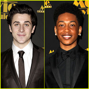 David Henrie & Jacob Latimore Suit Up for Movieguide Awards!