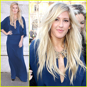Ellie Goulding: Roberto Cavalli Show at Milan Fashion Week