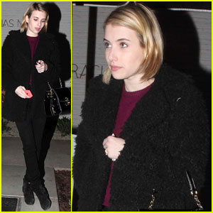 Emma Roberts: Harry Styles is My Favorite One Direction Member