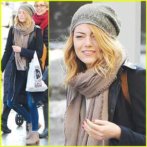 Emma Stone: Girls Day Out on Valentine's Day
