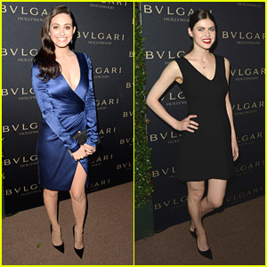 Emmy Rossum & Alexandra Daddario: 'Decades of Glamour' Duo