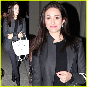 Emmy Rossum: Working Out De-Stresses Me