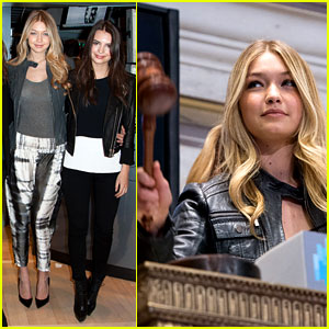 Gigi Hadid & 'Sports Illustrated' Models Ring the Stock Exchange Bell!