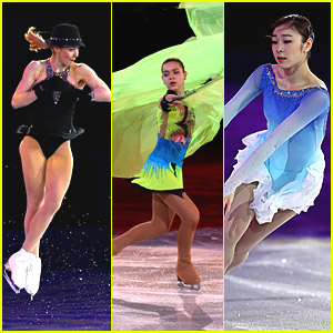 Gracie Gold, Adelina Sotnikova, Yuna Kim & Patrick Chan: Figure Skating Exhibition Gala at Sochi Olympics!