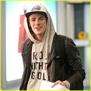 Grant Gustin: Back in Vancouver for 'The Flash'