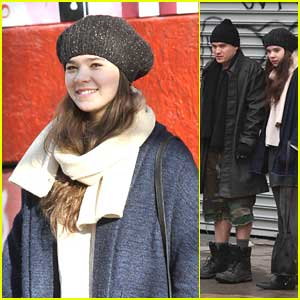 Hailee Steinfeld Films 'Saints' with Emile Hirsch