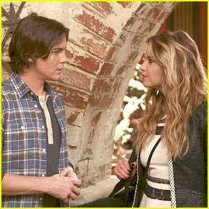 Hanna & Caleb Reunite on 'Ravenswood' Season Finale - See The Pics!