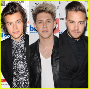 Harry Styles & Niall Horan: BRIT Awards 2014 Sony After-Party with Liam Payne & Sophia Smith