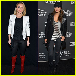 Hayden Panettiere: Pre-Super Bowl Party with Jamie Chung