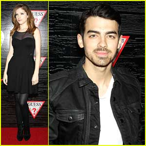 Anna Kendrick & Joe Jonas: Guess Nashville Collection Celebration at NYFW