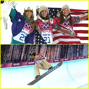 Snowboarders Kaitlyn Farrington & Kelly Clark: Gold & Bronze for Women's Halfpipe at Sochi Olympics!