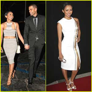 Kat Graham & Cottrell Guidry: Valentine's Day Dinner Date Before Make-Up Artists & Hair Stylist Awards