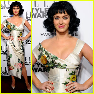 Katy Perry Named 'Woman of the Year' at the Elle Style Awards 2014
