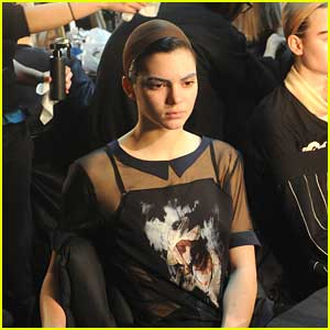 Kendall Jenner Wears Sheer Top for Marc Jacobs Show at NYFW
