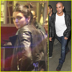 Kendall Jenner & Max George: Miley Cyrus Concert Goers!