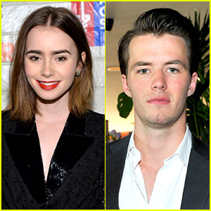 Lily Collins: Dating Aussie Actor Thomas Cocquerel?