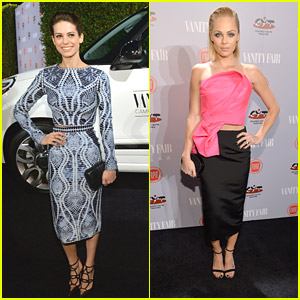 Lyndsy Fonseca & Laura Vandervoort: 'Vanity Fair' Celebrates Young Hollywood Event