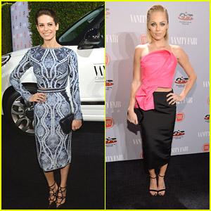 Lyndsy Fonseca & Laura Vandervoort: 'Vanity Fair' Celebrates Young Hollywood Event