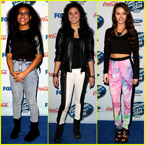 Malaya Watson & Jena Irene: 'American Idol' Top 13 Celebration!