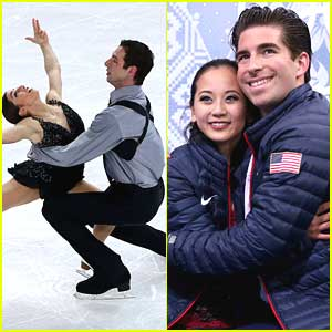 Pairs Skaters Marissa Castelli & Simon Shnapir Place 9th; Felicia Zhang & Nate Batholomay in 12th at Sochi Olympics