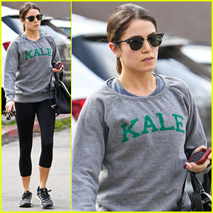 Nikki Reed Hits the Gym After 'Intramural' ADR Session