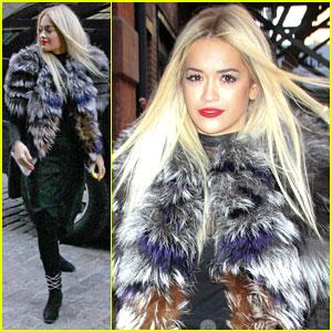 Rita Ora: Photo Shoot Fresh in NYC!