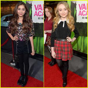 Rowan Blanchard & Sabrina Carpenter: 'Girl Meets World' at 'Vampire Academy' Premiere