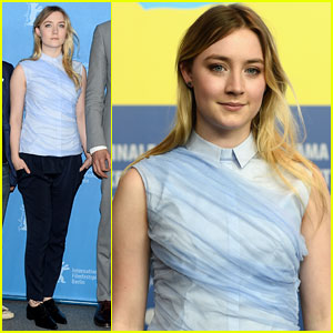 Saoirse Ronan: 'The Grand Budapest Hotel' Germany Press Conference