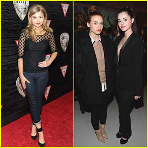 Stefanie Scott & Holland Roden: Guess Nashville Collection Celebrations with Vanessa Marano