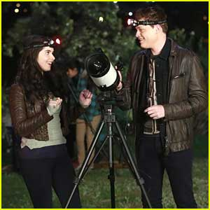 Vanessa Marano & Sean Berdy: Star Gazing on 'Switched At Birth'!