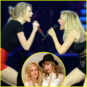 Taylor Swift Sings 'Burn' Live with Ellie Goulding in London - Watch Now!