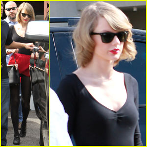 Taylor Swift Needs Multiple Bodyguards for Dance Class Exit